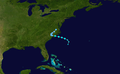 1949 Atlantic tropical storm 7 track.png
