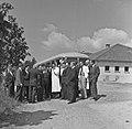 1957 Visite du ministre de l'agriculture Mr ANDRE DULIN au CNRZ-31-cliche Jean Joseph Weber.jpg