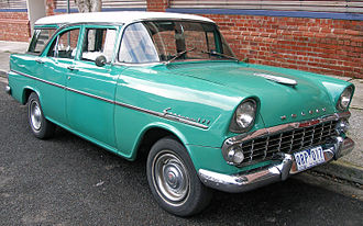 Holden - The EK of 1961 was Holden's response to the Ford Falcon, with the availability of automatic transmission.