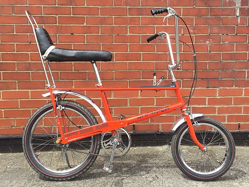 1969 Raleigh Chopper Orange
