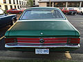 1971 AMC Hornet SC-360 compact muscle car in green at AMO 2015 meet 2of3.jpg
