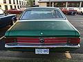 1971 AMC Hornet SC-360 compact muscle car in green at AMO 2015 meet 2of3.jpg