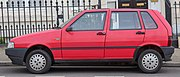 1992 Fiat Uno IE 1.0 Side.jpg
