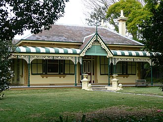 Willoughby, New South Wales - Image: 1Laurel Bank Cottage