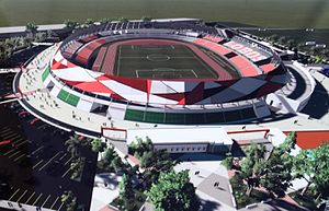 Estadio Universitario BUAP - Image: 1h 9e 7r