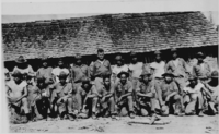1stLt Lewis B. Puller with members of the Guardia Nacional