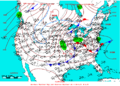 2005-04-22 Surface Weather Map NOAA.png