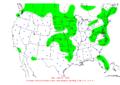 2006-06-06 24-hr Precipitation Map NOAA.png