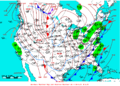 2007-01-28 Surface Weather Map NOAA.png