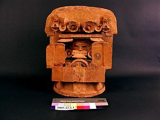 Brigham Young University Museum of Peoples and Cultures - Incense Burner from Mesoamerica.