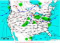 2009-05-26 Surface Weather Map NOAA.png