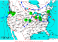 2009-06-19 Surface Weather Map NOAA.png