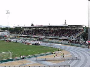 2017 European Athletics U20 Championships - Image: 20100410Gr Stadio Haupttribuene