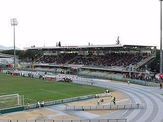 2016 IPC Athletics European Championships - Image: 20100410Gr Stadio Haupttribuene