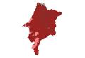 2010 Brazilian presidential election results - Maranhão.PNG