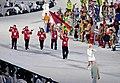 2010 Opening Ceremony - Albania entering.jpg