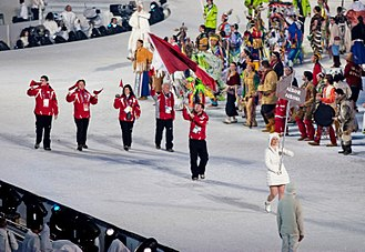 Albania at the Olympics - Albania's delegation at the 2010 Winter Games