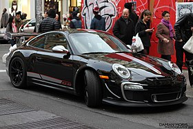 2011 Black Porsche 997 GT3 RS 4.0 in SoHo NYC.jpg