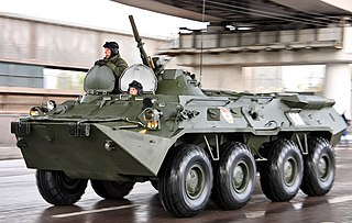 BTR-80 Armored personnel carrier