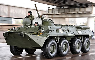 BTR-80 - Image: 2011 Moscow Victory Day Parade (360 06) (cropped)