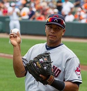 José López (baseball) - Jose Lopez in Cleveland Indians (2012)