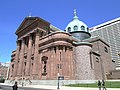 2013 Cathedral Basilica of Saints Peter and Paul from side.jpg