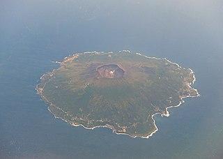 island in Tokyo, Japan