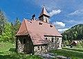 2014 Międzygórze, kościół Krzyża Świętego 01.JPG