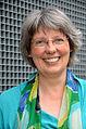 2015-07-23 Besuch vom Freundeskreis Hannover, Kronsberg (302) Pastorin Maike Ewert vom Stadtkloster - Kirche der Stille.JPG