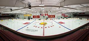 Ferris State Bulldogs men's ice hockey - Ferris State's Ewigleben Arena, June 2015