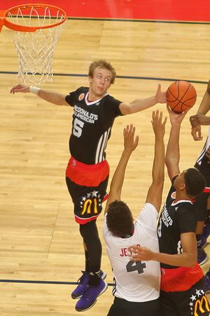 Luke Kennard (basketball) - Kennard at the 2015 McDonald's All-American Boys Game