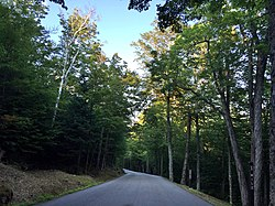 A small portion of the Mount Washington Auto Road passes through Pinkham's Grant.