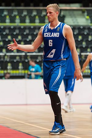 Haukur Pálsson - Image: 20160812 Basketball ÖBV Vier Nationen Turnier 6473