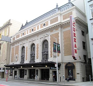 Curran Theatre theater and movie theater in San Francisco, California