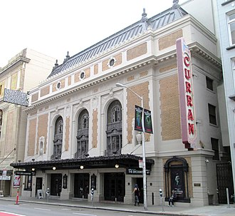 Curran Theatre - Image: 2017 Curran Theatre 445 Geary Street