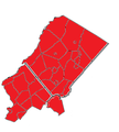 2017 General Assembly election for New Jersey's 24th District Results by Municipality.png