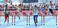 2018-10-16 Stage 2 (Boys' 400 metre hurdles) at 2018 Summer Youth Olympics by Sandro Halank–024.jpg