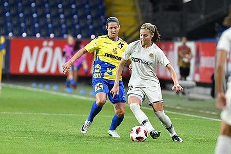 20180912 UEFA Women's Champions League 2019 SKN - PSG Babicky Bruun DSC 4898.jpg