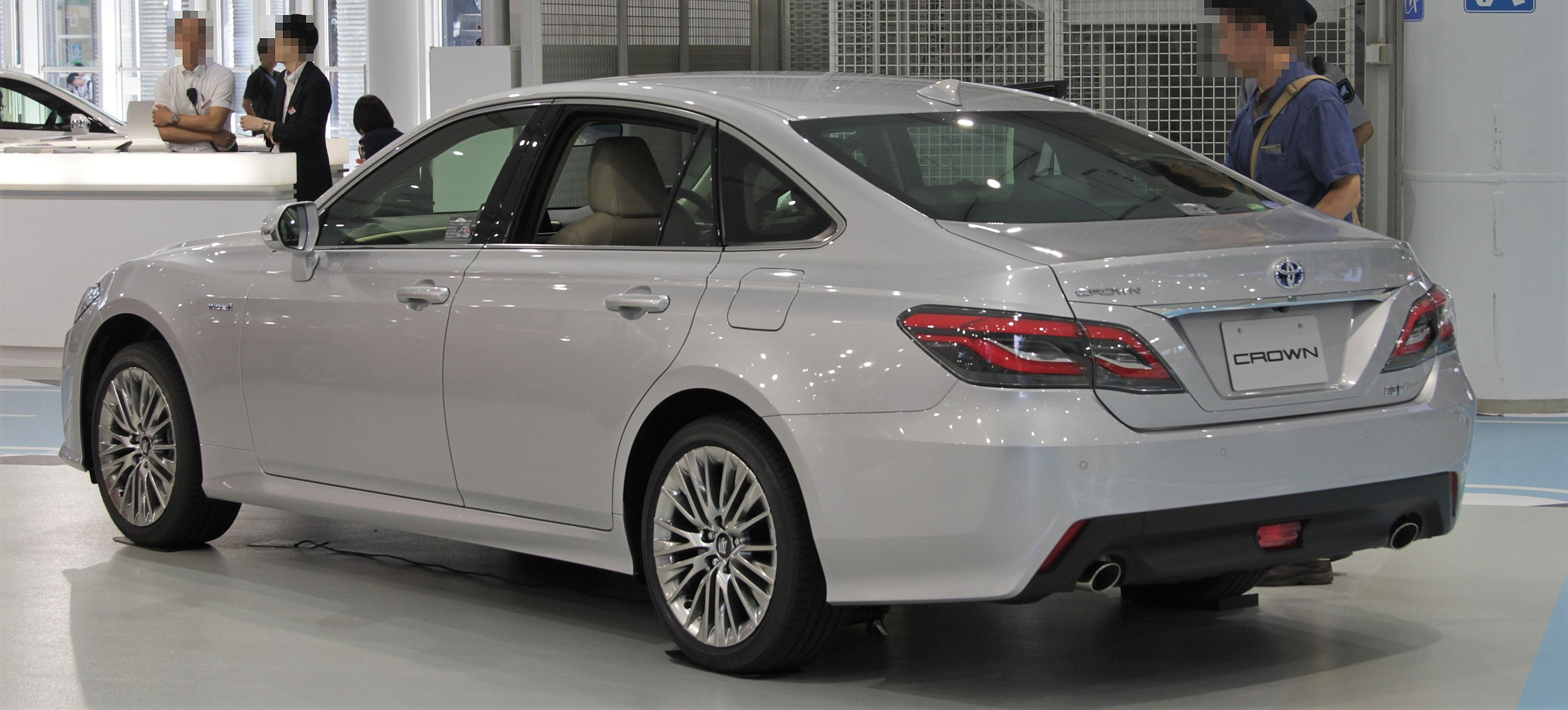 2018 Toyota Crown Hybrid rear.jpg