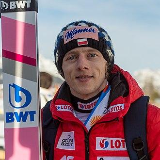 Dawid Kubacki - Kubacki at the 2019 World Championships in Seefeld