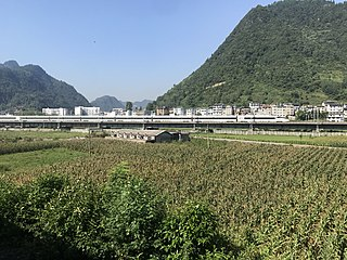 Chongqing–Guiyang high-speed railway Chinese railway line