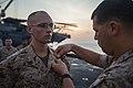 22nd Marine promoted to sergeant aboard USS Bataan 140501-M-HZ646-029.jpg