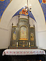 250513 Altar of the chapel in the castle in Baranow Sandomierski - 02.jpg