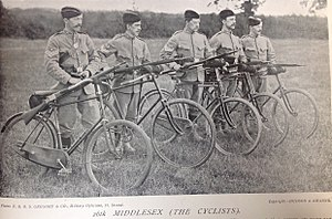 25th (County of London) Cyclist Battalion - 26th Middlesex (Cyclists) Volunteer Corps, 1896