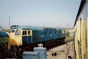 British Rail Class 27 - 27066 on the Dean Forest Railway