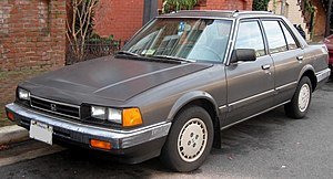 1982-1985 Honda Accord photographed in Alexand...