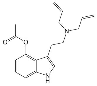 4-AcO-DALT - Image: 4 Ac O DALT structure