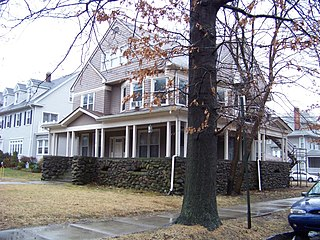 Whitney Avenue Historic District United States national historic site