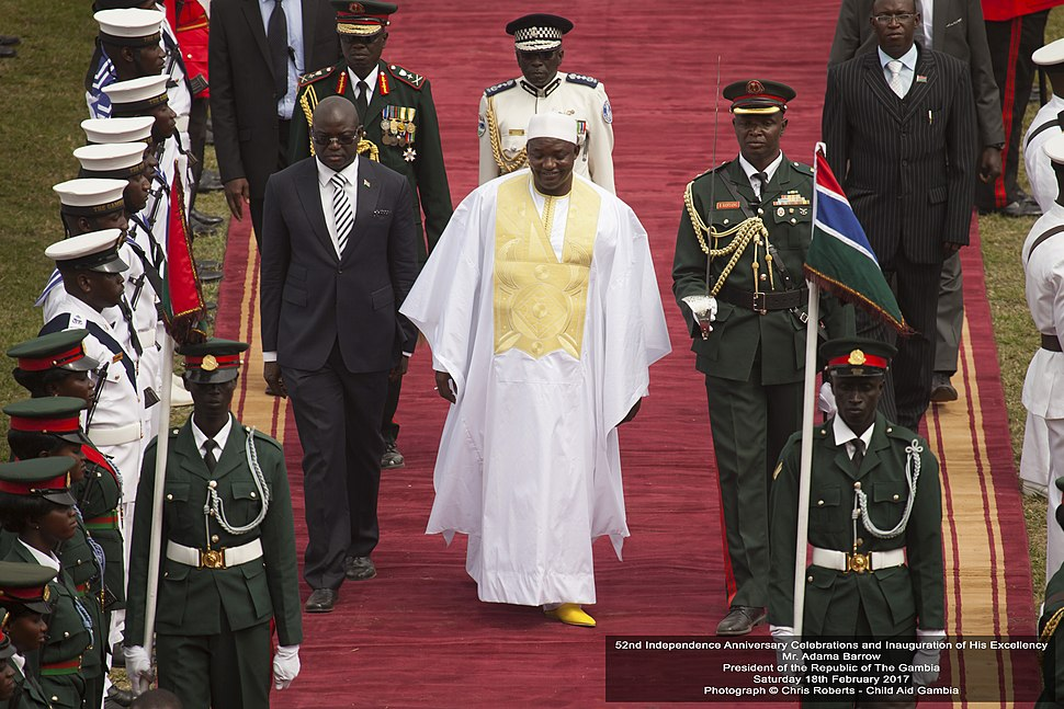 52nd Independence Anniversary Celebrations and Inauguration of His Excellency Mr. Adama Barrow President of the Republic of The Gambia Saturday 18th February 2017
