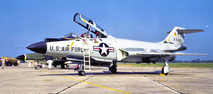 59th Test and Evaluation Squadron - 59th Fighter-Interceptor Squadron McDonnell F-101B-90-MC Voodoo 57-308 Kingsley Field, Oregon May 1969
